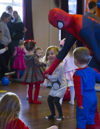 Spider man party surrey