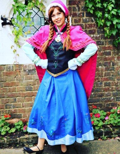 frozen sister Princess kent