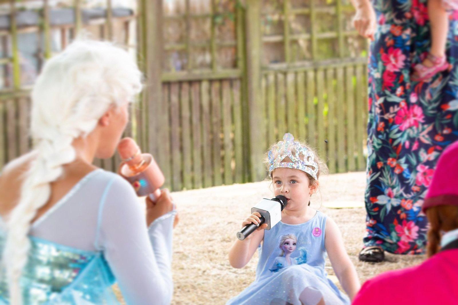 surrey singing princess party
