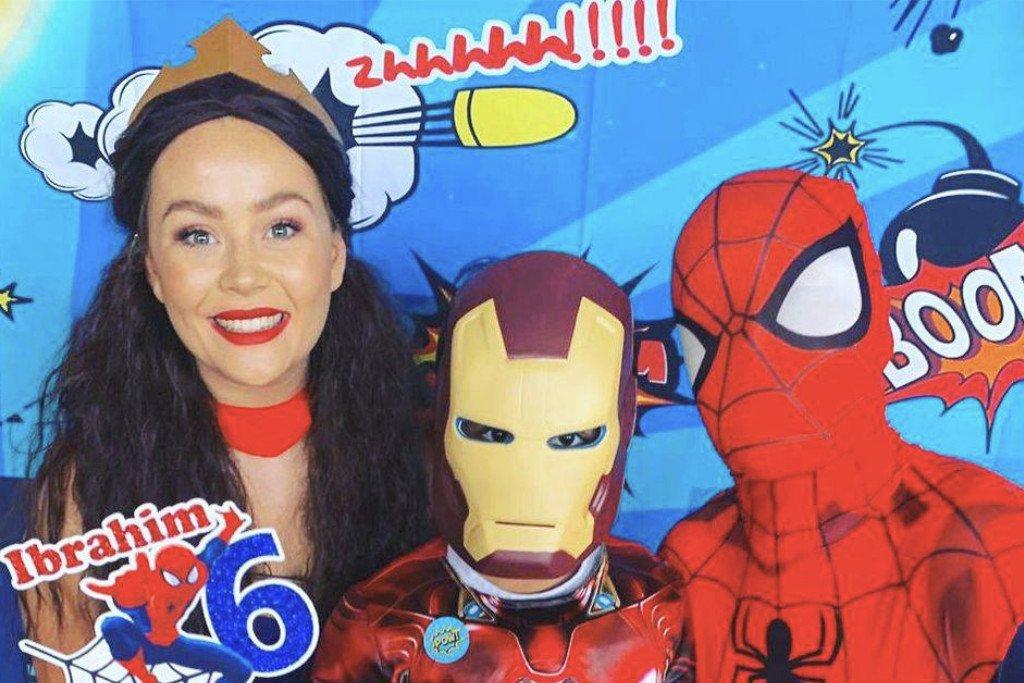 Super hero parties