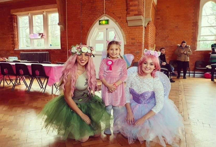 fairies together partying kent
