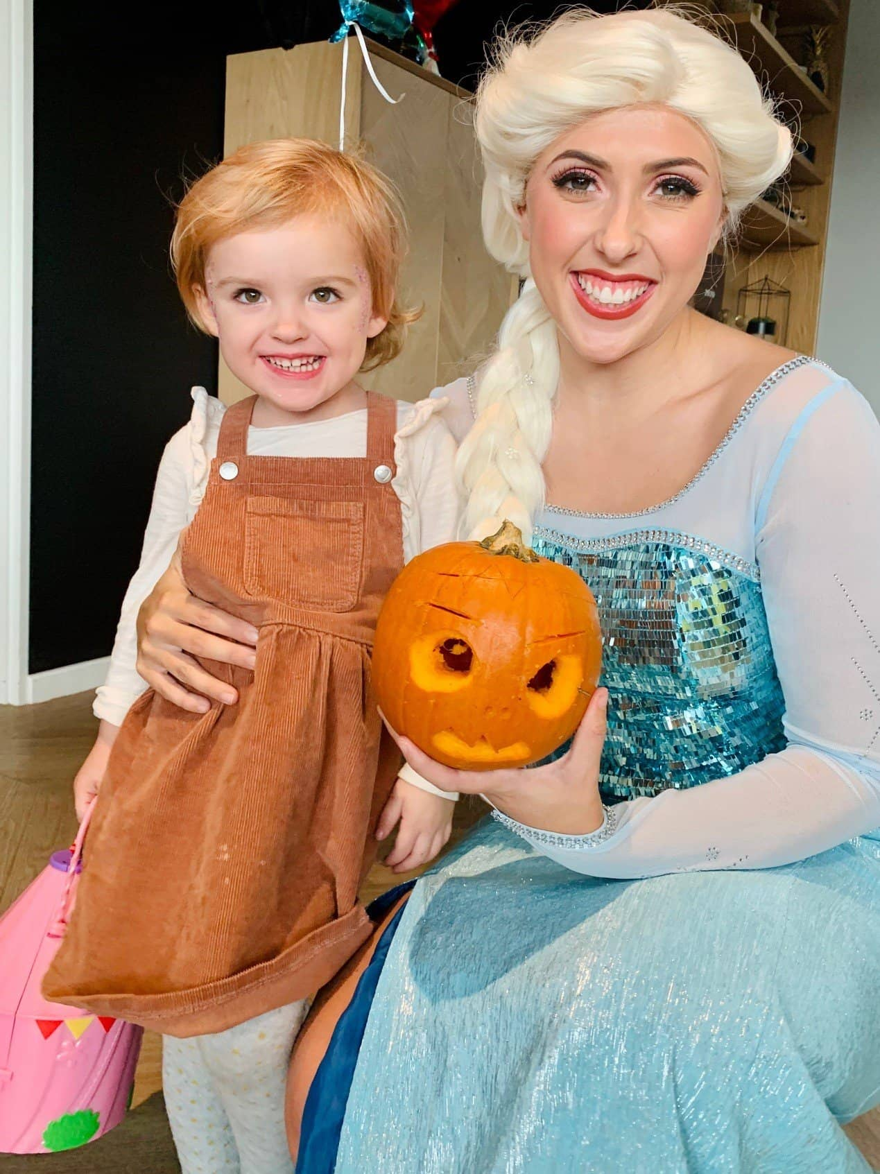 elsa halloween party surrey