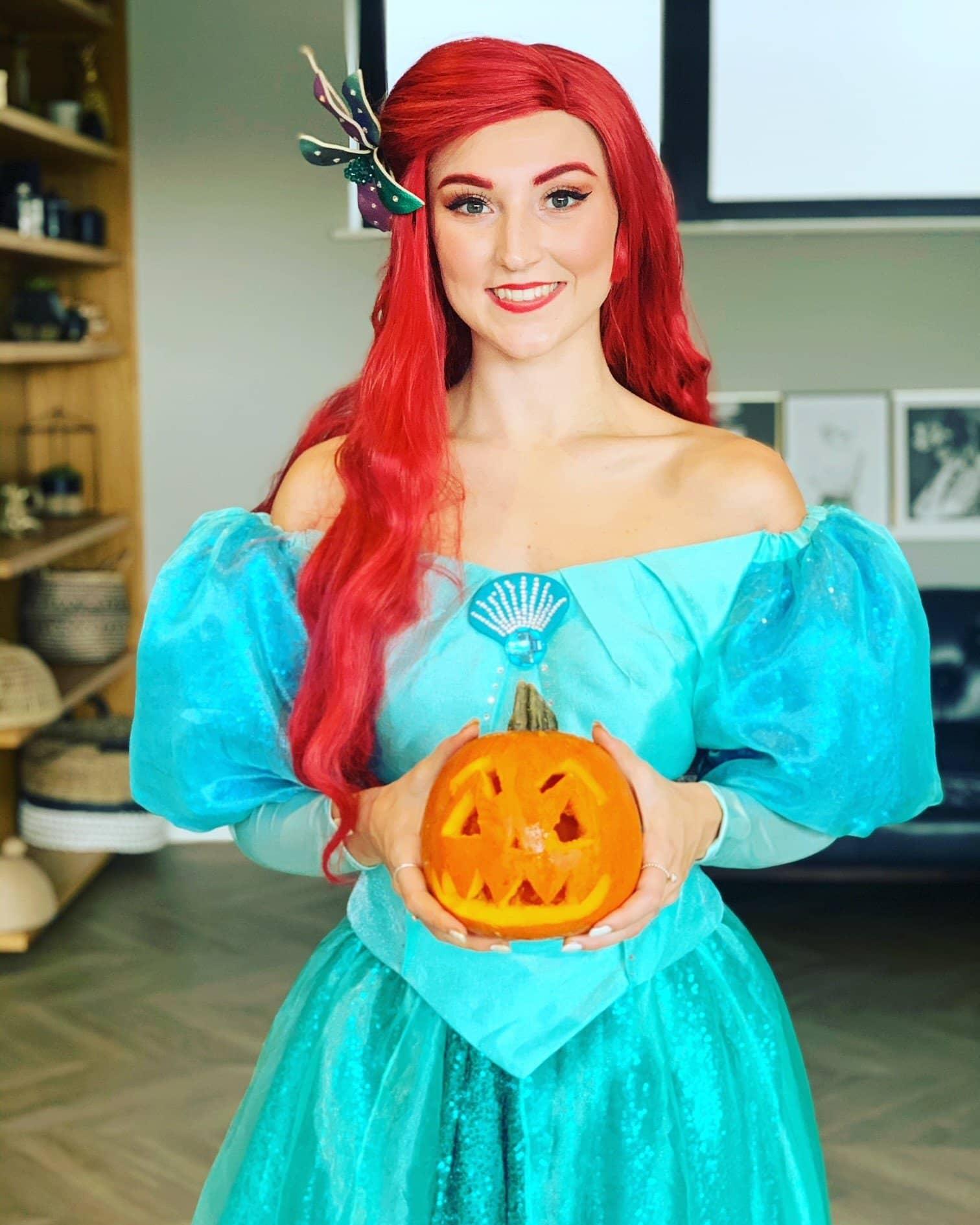 ariel halloween party kent