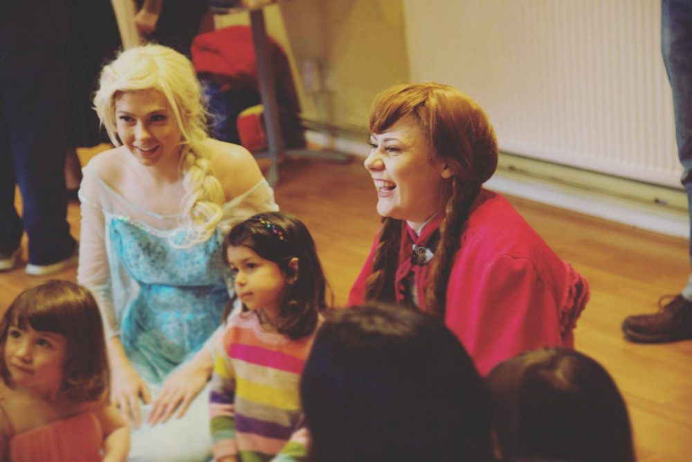 laughing guildford princess party