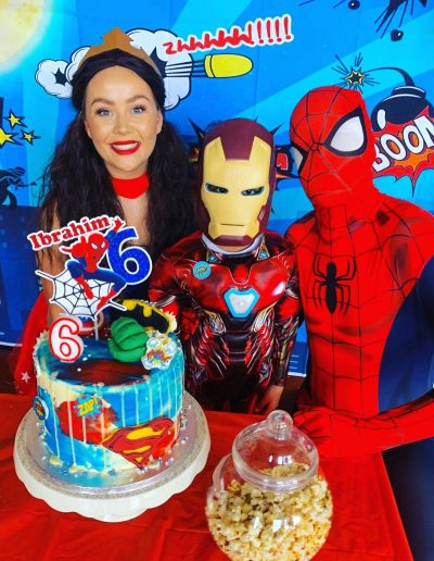 superhero party in guildford