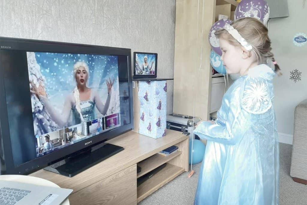 virtual parties available princess kent