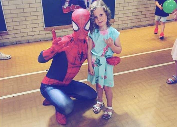 spiderman girls or boys parties kent