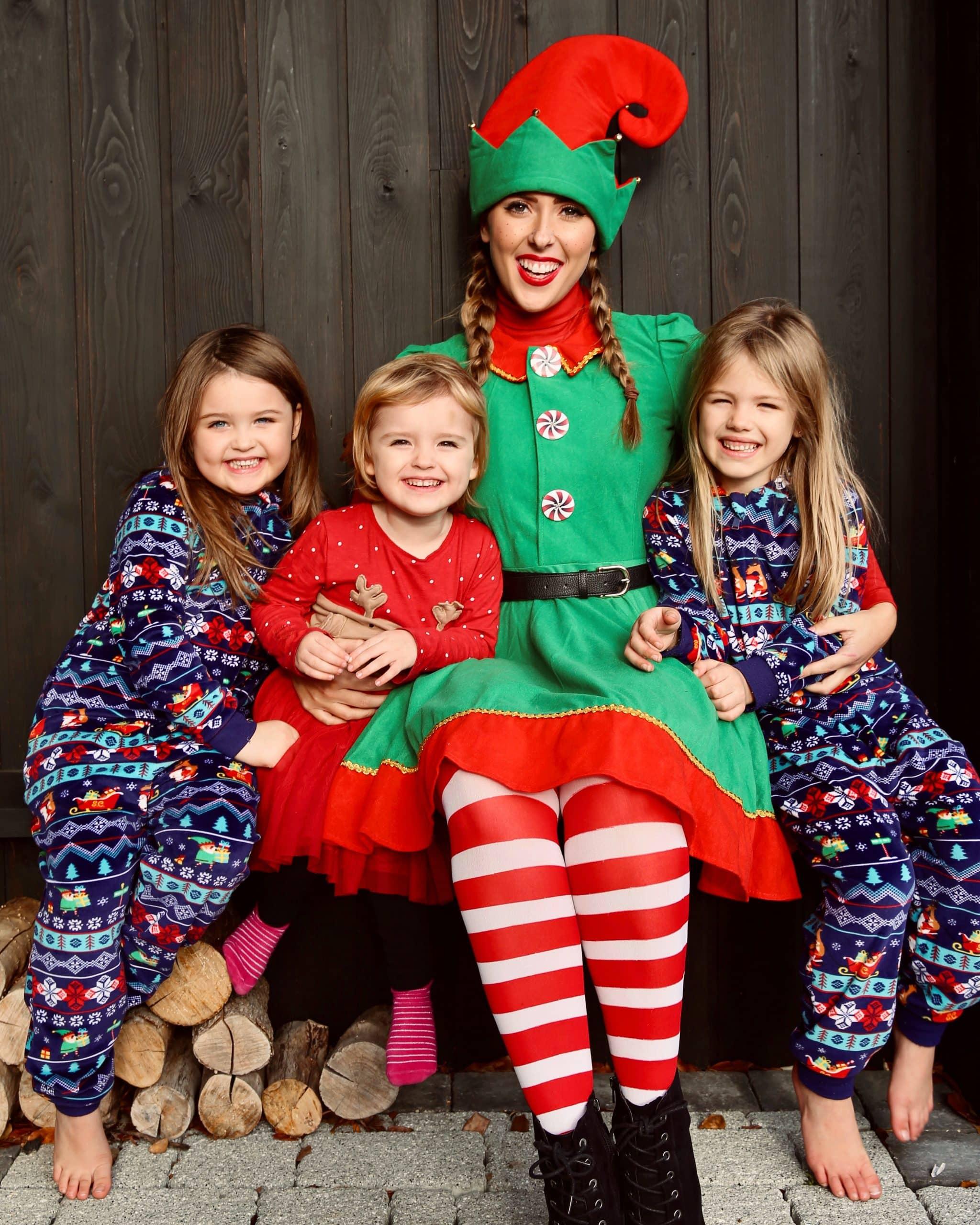 elf cuddles kent visit kids