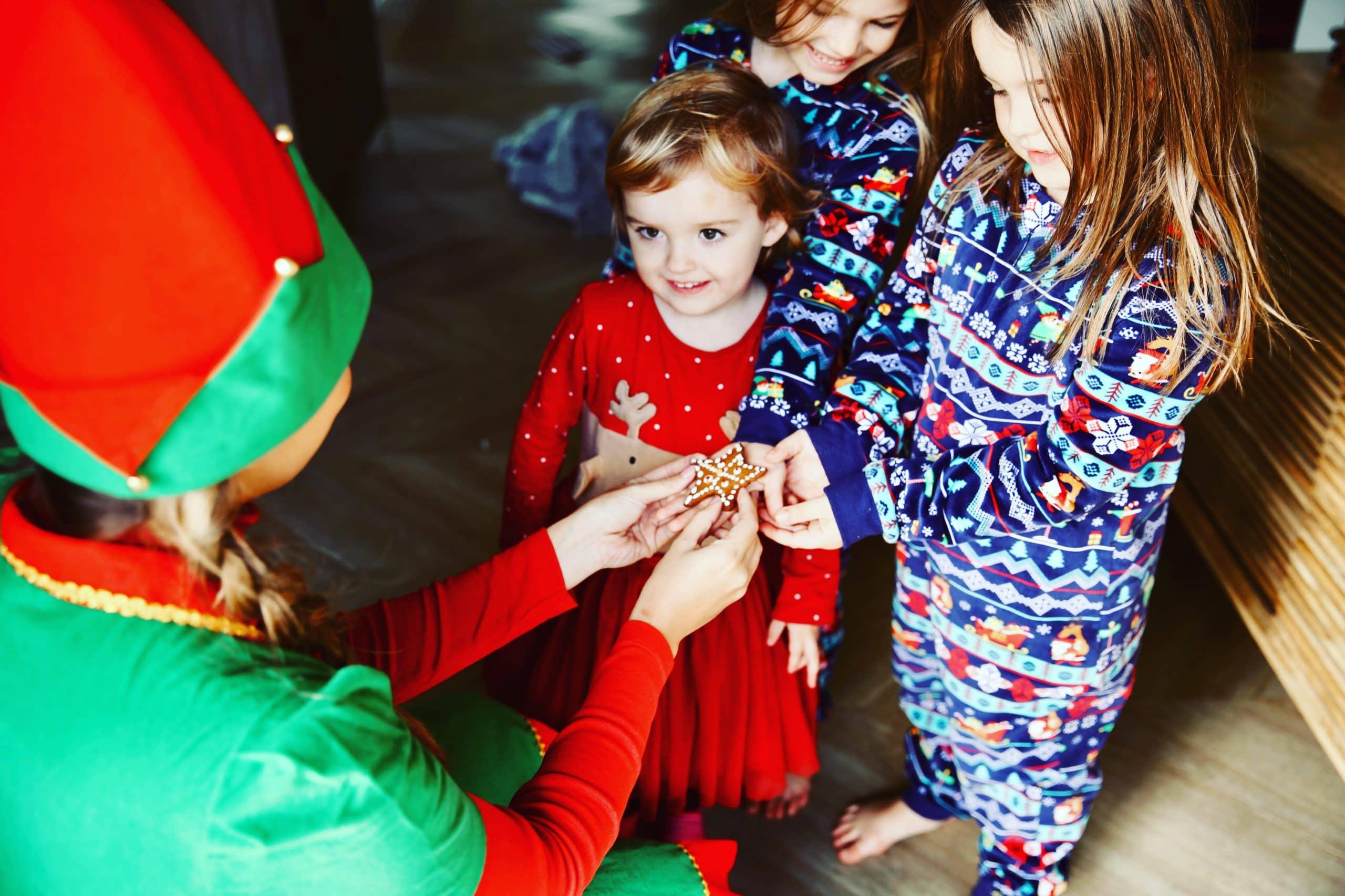 cookie christmas kent elf visit